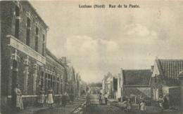 LECLUSE RUE DE LA POSTE CARTE ALLEMANDE - France