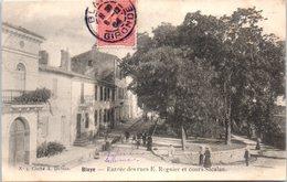 33 - BLAYE -- Entrée Des Rues E. Regnier Et Cour Sacalan - Blaye