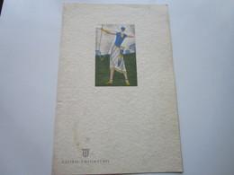 "P. Fo ""HELOUAN"" De La Cie LLOYD TRIESTINO - Menu De Diner Du 11.08.1933 - Bateaux"