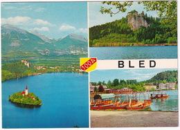 Bled - 'Zalozil: Zavod Za Turizem' - (Slovenija, YU.) - Joegoslavië