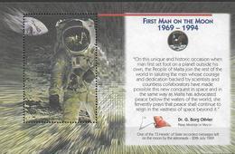 1994 Malta Vignette 25. Jahrestag Der Ersten Bemannten Mondlandung - Malta