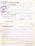 GUERRE 39-45 POSTKARTE STALAG VII A /23 Moosburg ALLEMAGNE - SERGENT AUMONIER INFIRMIER D'HOPITAL Rédigé 27 Juin 1943 - Postmark Collection (Covers)