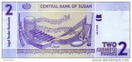 SUDAN P. 65 2 P 2006 UNC - Sudan