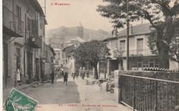 *** 12  ***  AVEYRON  --  AUBIN  Faubourg De Bournazel - TTBE - Otros Municipios