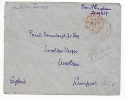 SOUTH AFRICA - GUERRE Des BOERS - 1902 - ENVELOPPE OBLITERATION ARMY PO 45 S.AFRICA => LIVERPOOL (ENG - Other
