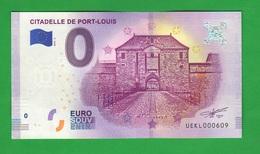 Euro SOUVENIR Notes € 0 Port Louis Mauritius 400 Ans De La Ville - Private Proofs / Unofficial