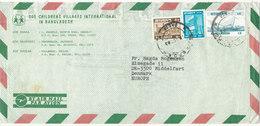 Bangladesh Air Mail Cover Sent To Denmark 1983 - Bangladesh