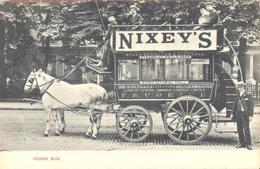 Horse Bus  London??  Around 1910 - Buses & Coaches