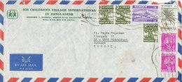Bangladesh Air Mail Cover Sent To Denmark 8-11-1978 - Bangladesh