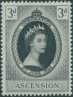 Ascension Island 1953 SG56 3d QEII Coronation MNH - Ascension
