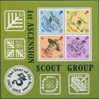 Ascension Island 1982 SG313 Scouts MS MNH - Ascension