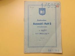 LIBRETTO FRANCOBOLLI STAMPS AUSWAHLHEFT OPUSCOLO BOOK LOTTO COLLEZIONI BOSNIA HERZEGOVINA  DAL 1912 OLTRE 15 PEZZI - Bosnia Erzegovina