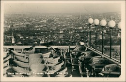 Ansichtskarte Wien Bar - Terrasse - Panorama-Ansicht 1940 - Vienna