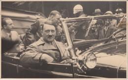 Echtfoto 13 X 8 Cm - Hitler Und Andere NS-Größen Im Auto - - War 1939-45