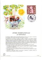 DOCUMENT FDC 1979 ANNEE INTERNATIONALE DE L'ENFANCE - FDC