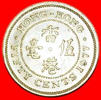 + GREAT BRITAIN (1977-1980): HONG KONG ★ 50 CENTS 1977! LOW START ★ NO RESERVE! - Hong Kong