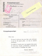 GUERRE 39-45 POSTKARTE PRISONNIER DE GUERRE STALAG VIII C Żagań  - Reçu Le Colis - Pour LUZERN SUISSE Du 3-1-41 - Poststempel (Briefe)
