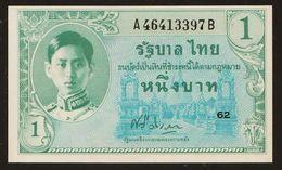 1 Baht Serie 8 Sign. 22 Rama VIII. Thailand 1946 UNC - Thailand