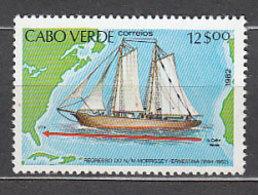 Cabo Verde - Correo Yvert 461 ** Mnh  Barcos - Islas De Cabo Verde