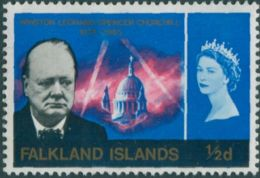 Falkland Islands 1966 SG223 ½d Churchill MLH - Falkland Islands