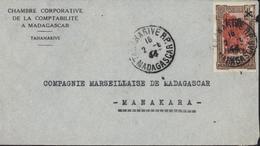 YT 262 Chef Sakalave 1.5 France Libre Surcharge 1.75 Tananarive RP Madagascar 2 6 44 Chambre Coopérative Comptabilité - Madagascar (1889-1960)