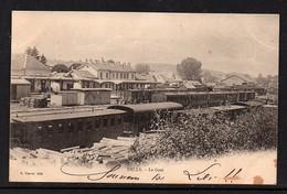 DELLE - La Gare. - Gares - Avec Trains
