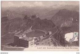 Rochers De Naye Et Les Alpes Bernoises - VD Vaud