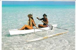 Pirogue Polynésienne Par Teva Sylvain - Polynésie Française