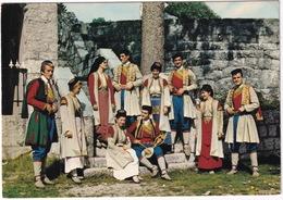 Crnogorska Narodna Nosnja - Montegrin National Costumes - (Montenegro, YU.) - Joegoslavië