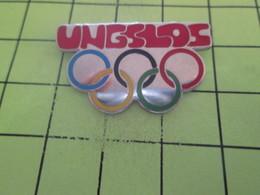 1318b Pins Pin's / Rare & Belle Qualité THEME JEUX OLYMPIQUES / UNGCLOS ANNEAUX OLYMPIQUES - Olympic Games