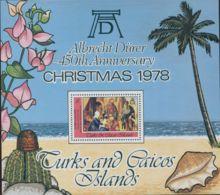 Turks And Caicos Islands 1978 SG533 Christmas MS MNH - Turks And Caicos