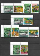 Guinea 1968 Paintings Of African Legends II + Labels MNH (R0436) - Guinea (1958-...)