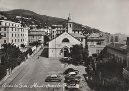 Cartolina - Postcard / Non  Viaggiata - Unsent /  Alassio, Piazza S. Francesco. ( Gran Formato ) - Savona