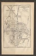 CARTE PLAN 1922 - LA ROCHE Sur YON - FAUBOURG De FORGES D'EQUEBOUILLE HARAS ETALONS CHAMP De FOIRE - Topographische Karten