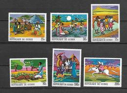 Guinea 1968 Paintings Of African Legends I MNH (R0489) - Guinea (1958-...)