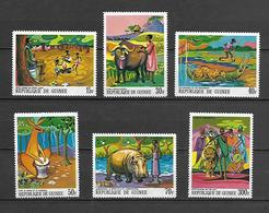 Guinea 1968 Paintings Of African Legends II MNH (R0490) - Guinea (1958-...)