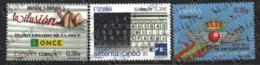 Spain - Espagne 2014 Yvert 4604-06, Ephemeris / Centenaries, ONCE, EFE,  Air Force - MNH - 1931-Hoy: 2ª República - ... Juan Carlos I