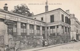 Yvelines : MEULAN : école Des Filles ( Animation ) - Meulan