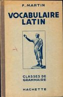 Vocabulaire Latin De F. Martin (1962) - Books, Magazines, Comics