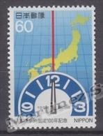 Japan - Japon 1986 Yvert 1585, Centenary Of World Time Zone In Japan - MNH - 1926-89 Emperor Hirohito (Showa Era)