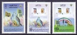 2010 Kuwait 49 National Day Complete Set 3 Values MNH - Kuwait