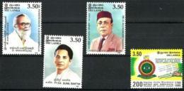 Sri Lanka Nº 1213/6 En Nuevo - Sri Lanka (Ceilán) (1948-...)