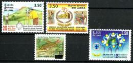 Sri Lanka Nº 1233/35 En Nuevo - Sri Lanka (Ceilán) (1948-...)