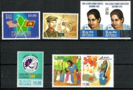 Sri Lanka Nº1268/72 En Nuevo - Sri Lanka (Ceilán) (1948-...)