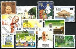 Sri Lanka Nº 1403/13 En Nuevo - Sri Lanka (Ceilán) (1948-...)