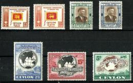 Ceilan Nº 273/76-277/79 En Nuevo - Sri Lanka (Ceylon) (1948-...)