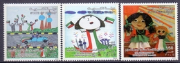 2010 Kuwait Anniversary Of The Liberation Day Complete Set 3 Values MNH - Kuwait
