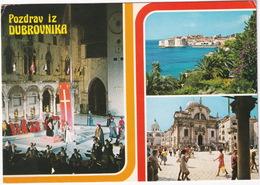 Pozdrav Iz Dubrovnika: Summer Festival, Closing Ceremony, Priest, Cathedral - ( YU.) - Joegoslavië