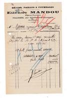 Facture 1932 Grains Pailles Fourrages Etienne Mandou, Folcarde, Par Villefranche-Lauragais, Haute-Garonne - Agriculture