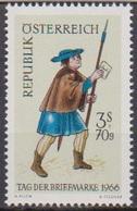 Österreich 1966 Nr.1229 ** Postfr. Tag Der Briefmarke ( 8673) Günstige Versandkosten - 1961-70 Ungebraucht